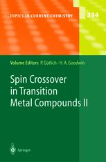 Spin Crossover in Transition Metal Compounds II