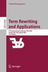 Term Rewriting and Applications