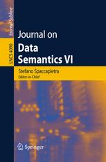 Journal on Data Semantics VI