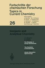Inorganic and Analytical Chemistry