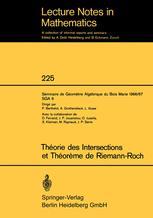 Théorie des Intersections et Théorème de Riemann-Roch