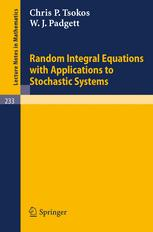Random Integral Equations with Applications to Stochastic Systems