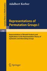 Representations of Permutation Groups I