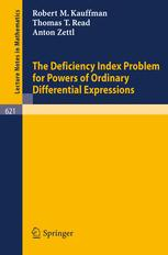The Deficiency Index Problem for Powers of Ordinary Differential Expressions