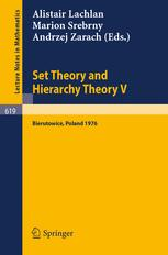 Set Theory and Hierarchy Theory V