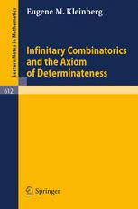 Infinitary Combinatorics and the Axiom of Determinateness