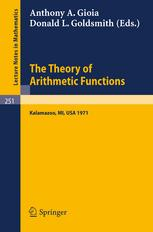 The Theory of Arithmetic Functions