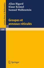 Groupes et Anneaux Réticulés