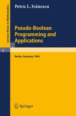 Pseudo-Boolean Programming and Applications