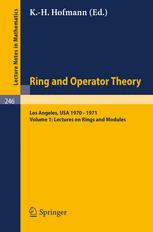Lectures on Rings and Modules