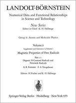 Organic N-Centered Radicals and Nitroxide Radicals