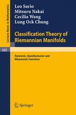 Classification Theory of Riemannian Manifolds