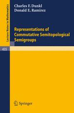 Representations of Commutative Semitopological Semigroups