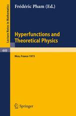 Hyperfunctions and Theoretical Physics