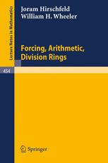 Forcing, Arithmetic, Division Rings