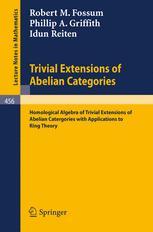 Trivial Extensions of Abelian Categories
