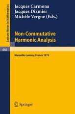 Non-Commutative Harmonic Analysis