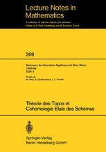 Théorie des Topos et Cohomologie Etale des Schémas
