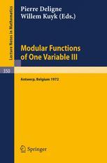 Modular Functions of One Variable III