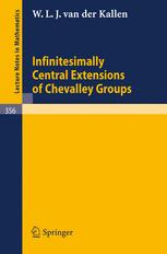 Infinitesimally Central Extensions of Chevalley Groups