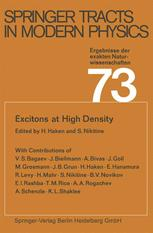 Excitons at High Density