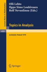 Topics in Analysis