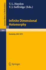 Proceedings on Infinite Dimensional Holomorphy