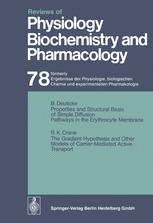 Reviews of Physiology, Biochemistry and Pharmacology, Volume 78