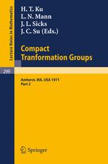 Proceedings of the Second Conference on Compact Transformation Groups
