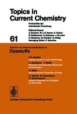 Physical and Chemical Applications of Dyestuffs