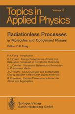Radiationless Processes in Molecules and Condensed Phases