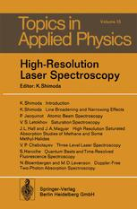 High-Resolution Laser Spectroscopy