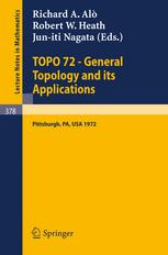 TOPO 72 — General Topology and its Applications