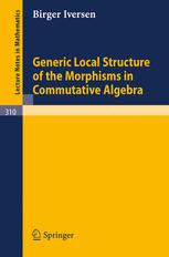 Generic Local Structure of the Morphisms in Commutative Algebra