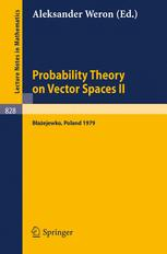Probability Theory on Vector Spaces II