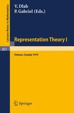 Representation Theory I