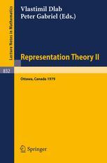 Representation Theory II