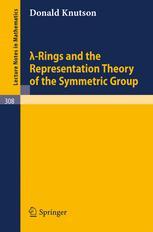 λ-Rings and the Representation Theory of the Symmetric Group