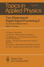 Two-Dimensional Digital Signal Prcessing II