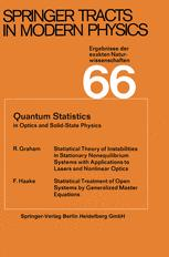 Quantum Statistics in Optics and Solid-State Physics