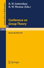Conference on Group Theory
