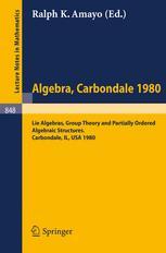 Algebra Carbondale 1980