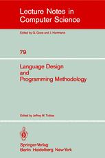 Language Design and Programming Methodology
