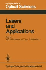 Lasers and Applications