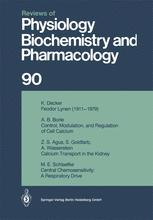 Reviews of Physiology, Biochemistry and Pharmacology, Volume 90