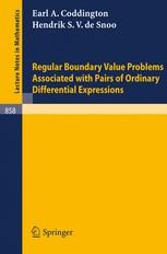 Regular Boundary Value Problems Associated with Pairs of Ordinary Differential Expressions