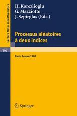 Processus Aléatoires à Deux Indices