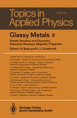 Glassy Metal II