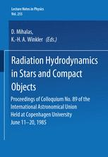 Radiation Hydrodynamics in Stars and Compact Objects