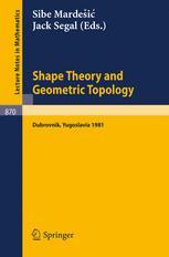 Shape Theory and Geometric Topology